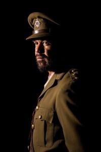 Shimpal Lelisi as Sergeant Ete Masani — Photograph: Andrew Malmo